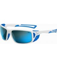 Cebe PROGUIDE blanco brillante azul 4000 gris minerales gafas de sol azules