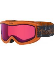 Bolle 21519 Amp monstruo naranja - gafas de esquí vermillon - 3-8 años