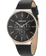 Police 15044JSR-02 Reloj de cuero para hombre