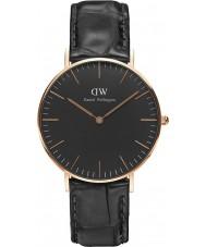 Daniel Wellington DW00100141 reloj de 36 mm de lectura negro clásico