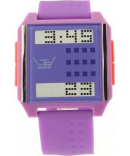 LTD Watch LTD-130405 Púrpura mezcla de color rosa y reloj digital del partido