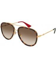 Gucci Señoras gg0062s 012 57 gafas de sol