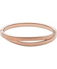 Skagen SKJ0715791 Elin damas subieron de tono de oro cortado brazalete
