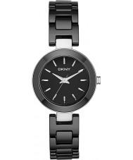 DKNY NY2355 Damas Stanhope reloj de cerámica negro