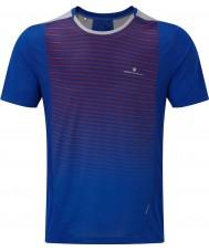 Ronhill Camiseta del equipo del ss del zancada del hombre