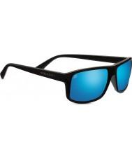 Serengeti Claudio satén gris oscuro 555nm polarizada las gafas de sol de espejo azul