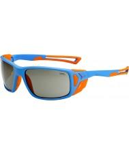 Cebe Proguide azul mate, naranja gafas de sol pico variochrom