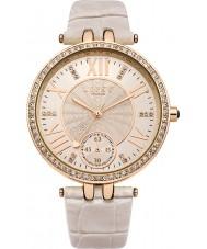 Lipsy LP294 Señoras de oro rosa y correa de reloj desnuda
