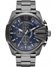 Diesel DZ4329 Mega jefe de reloj cronógrafo de acero bronce de cañón para hombre