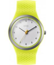 Braun BN0111WHGRL Las señoras reloj deportivo de correa de silicona verde