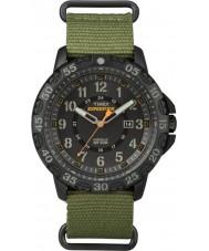 Timex TW4B03600 Mens expedición Gallatin nylon verde reloj de la correa