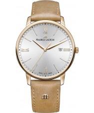 Maurice Lacroix EL1118-PVP01-111-2 Mens Eliros reloj de la correa de cuero marrón