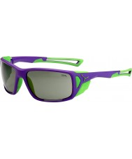 Cebe PROGUIDE gafas de sol pico púrpura variochrom verde