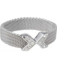 Skagen JRS0015S7 Charlotte damas anillo de malla suave - o tamaño