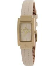 Radley RY2050 Señoras del reloj de la correa de cuero color crema cosido