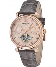 Thomas Earnshaw ES-8046-03 Reloj para hombre de la correa de cuero marrón gran calandra
