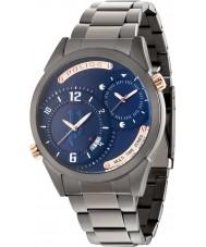 Police 14540JSU-03M Mens dugite reloj de pulsera de acero de bronce