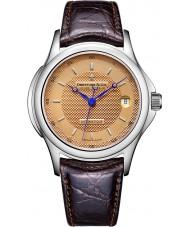 Dreyfuss and Co DGS00016-25 Mens 1925 El cobre subió el sello reloj automático de color marrón