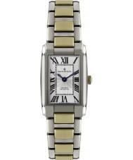 Dreyfuss and Co DLB00052-01 Las señoras 1974 reloj de acero de dos tonos