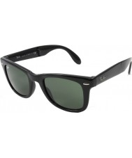 RayBan Rb4105 50 plegables negras del caminante 601 gafas de sol