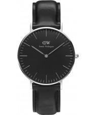 Daniel Wellington DW00100145 reloj de 36 mm Sheffield negro clásico