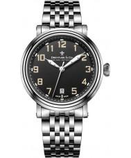 Dreyfuss and Co DGB00152-19 Reloj para hombre pulsera de acero de plata 1924