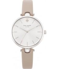 Kate Spade New York 1YRU0813 Holland damas de cuero beige reloj de la correa