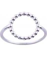 Nordahl Jewellery 125206-54 Damas Rodio plateado anillo de plata - tamaño n