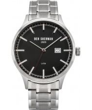 Ben Sherman WB056BSM reloj de pulsera de acero de plata Spitalfields deporte para hombre