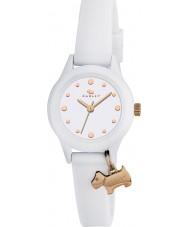 Radley RY2320 Reloj de señoras que! correa de reloj blanco con reflejos de oro rosa