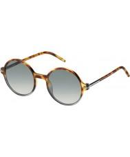 Marc Jacobs Mens marc 48-s VK tmv manchado Habana sombreado gafas de sol grises