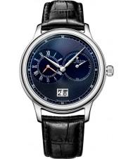 Dreyfuss and Co DGS00120-05 Reloj para hombre de la correa de cuero negro azul