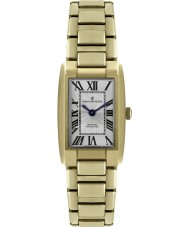 Dreyfuss and Co DLB00053-01 Las señoras 1974 de oro reloj plateado