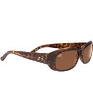 Serengeti Bianca brillo de carey polarizado gafas de sol de los conductores