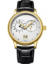 Dreyfuss and Co DGS00121-06 Para hombre chapado en oro reloj de la correa de cuero negro