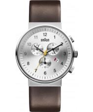 Braun BN0035SLBRG Reloj para hombre marrón plata