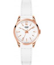 Henry London HL25-S-0110 Damas pimlico reloj blanco
