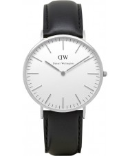 Daniel Wellington DW00100020 Para hombre reloj de plata Sheffield clásico 40mm