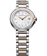 Maurice Lacroix FA1003-PVP23-170-1 Damas FIABA redonda ver dos tonos con diamantes
