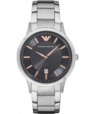 Emporio Armani AR2514 Para hombre viste el reloj pulsera de acero de plata