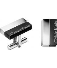 Calvin Klein KJ5RBC210100 mancuernas de impulso para hombre