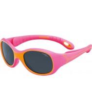 Cebe S-Kimo (edad 1-3) gafas de sol de color naranja fucsia