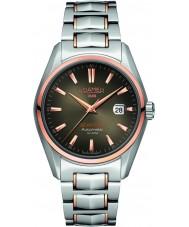 Roamer 210633-49-02-20 Mens Searock dos tonos reloj de pulsera de acero
