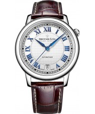 Dreyfuss and Co DGS00148-01 Reloj para hombre de la correa de cuero marrón 1925