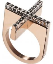 Edblad 82807 Señoras dada rosa anillo de oro - tamaño n (s)