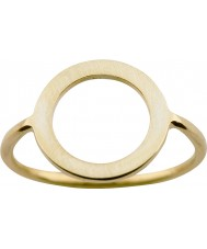 Nordahl Jewellery 125211-58 Las señoras anillo dorado del oro - tamaño q