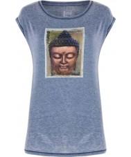 Dare2b Camiseta azul marina reposada de las señoras