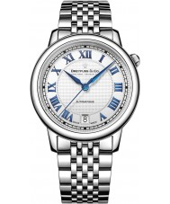 Dreyfuss and Co DLB00148-01 señoras de la serie 1925 de acero de plata del reloj automático