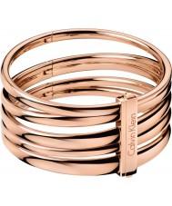 Calvin Klein KJ2GPD10010S Damas suntuosa brazalete color de rosa de oro