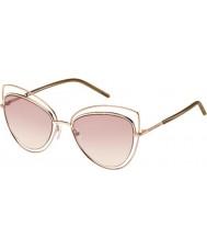 Marc Jacobs Damas marc 8-s TXA 05 gafas de sol marrones de oro